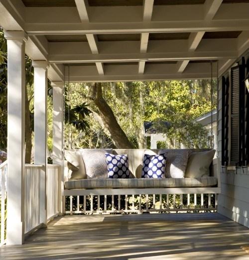 Como decorar el porche de tu casa for Como decorar una casa sencilla