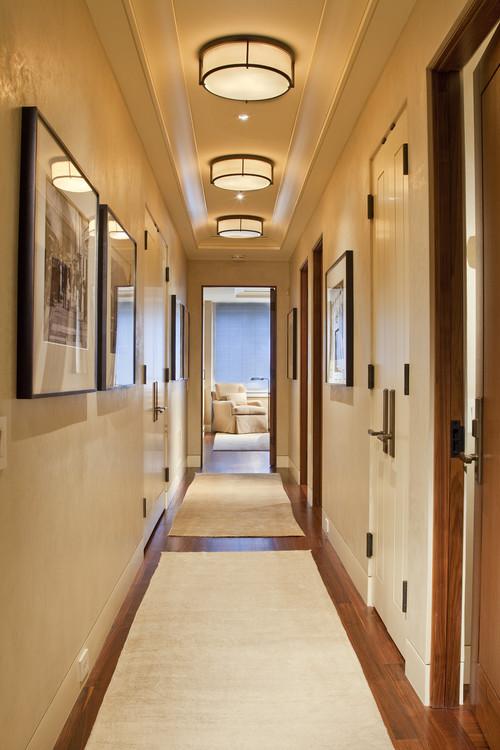 C mo decorar un pasillo estrecho - Focos pasillo ...