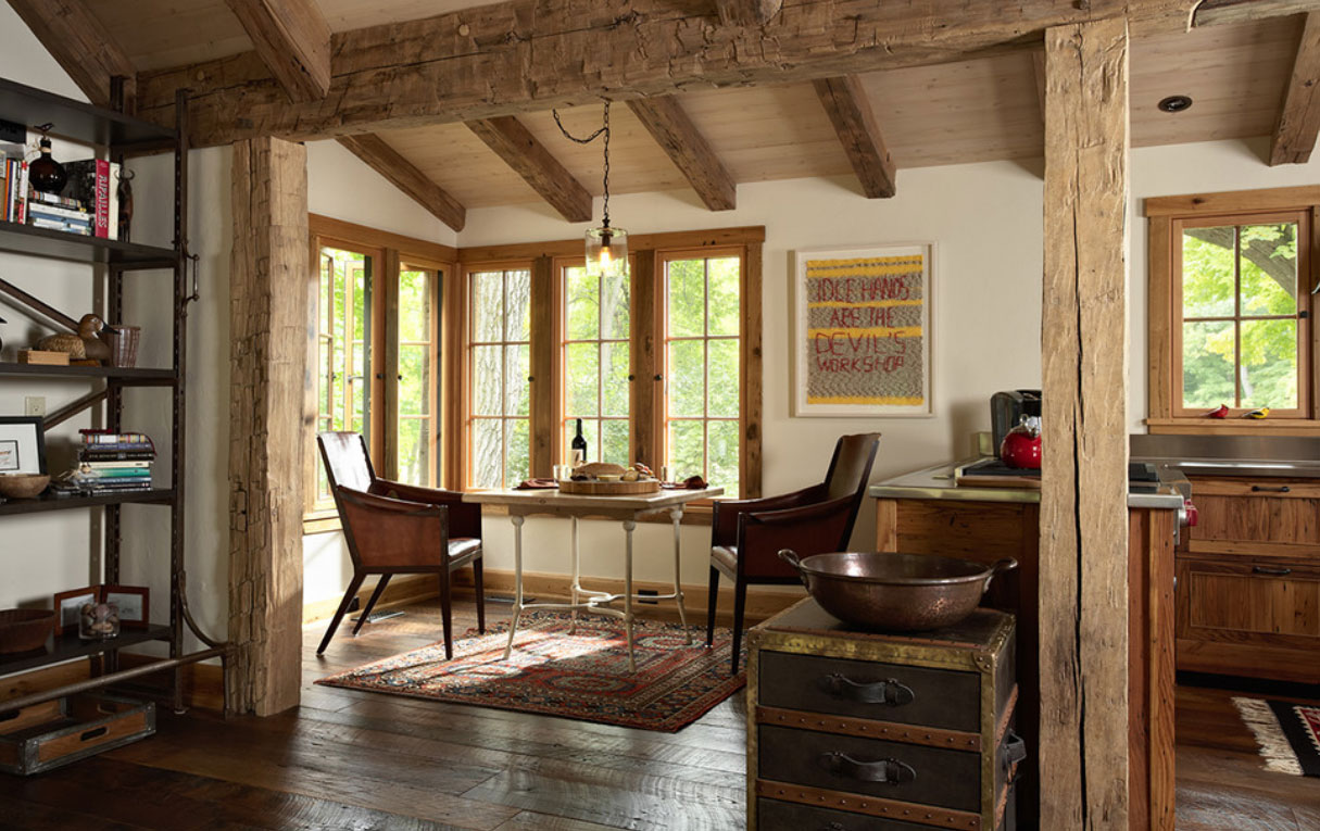 Casa estilo rustico - Casas con estilo ...