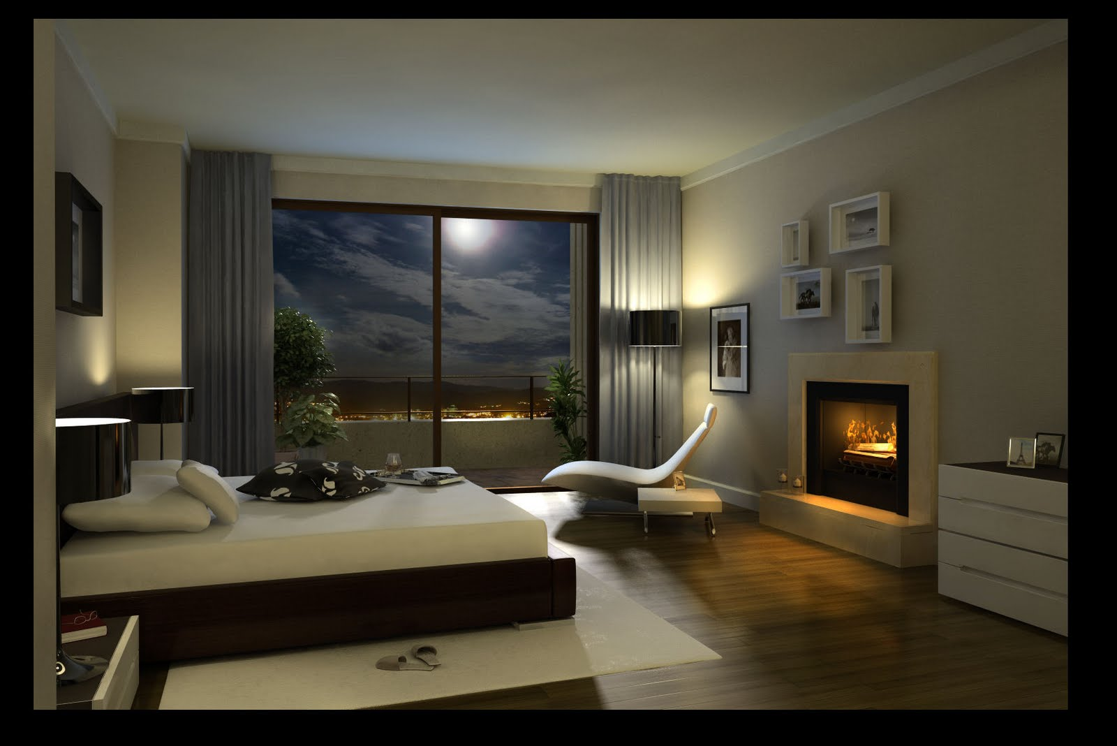 Gana bienestar en el dormitorio principal for Como decorar una casa minimalista