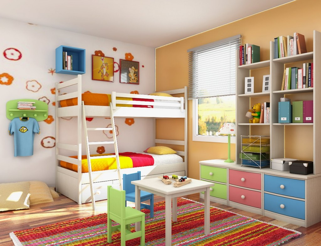 Saca partido al dormitorio infantil for Dormitorios infantiles para dos