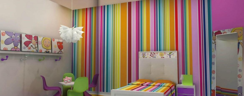 C mo decorar las habitaciones con papel pintado - Como decorar con papel pintado ...