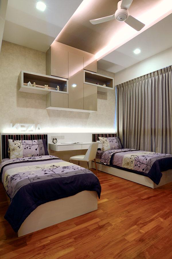 Como combinar una habitaci n con pisos de madera - Como amueblar un piso ...