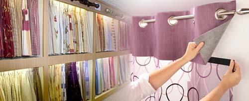 Decoraci n de cortinas - Tipos de telas para cortinas ...