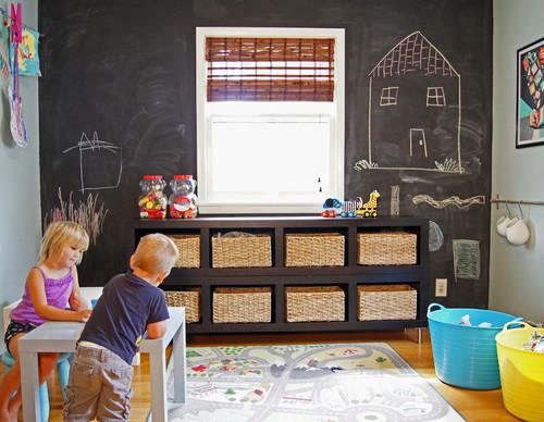 Cómo decorar las paredes de una habitación infantil 2