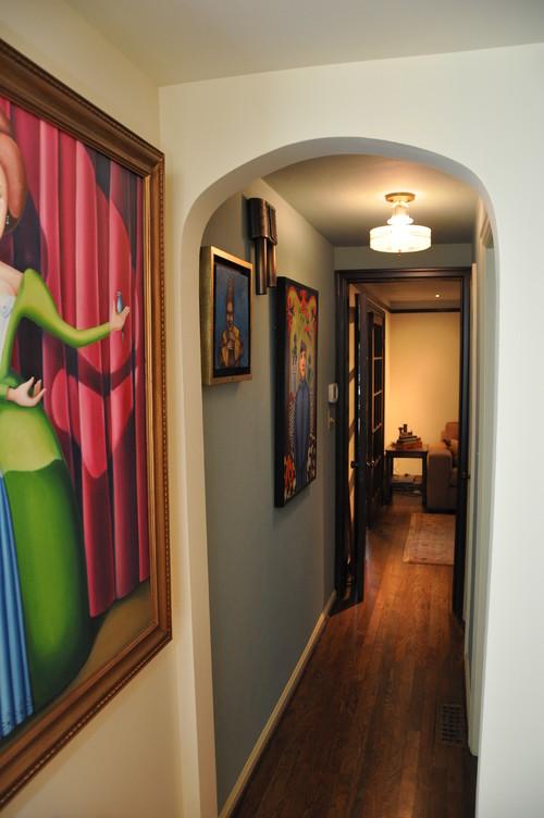 Cómo decorar un pasillo estrecho 2