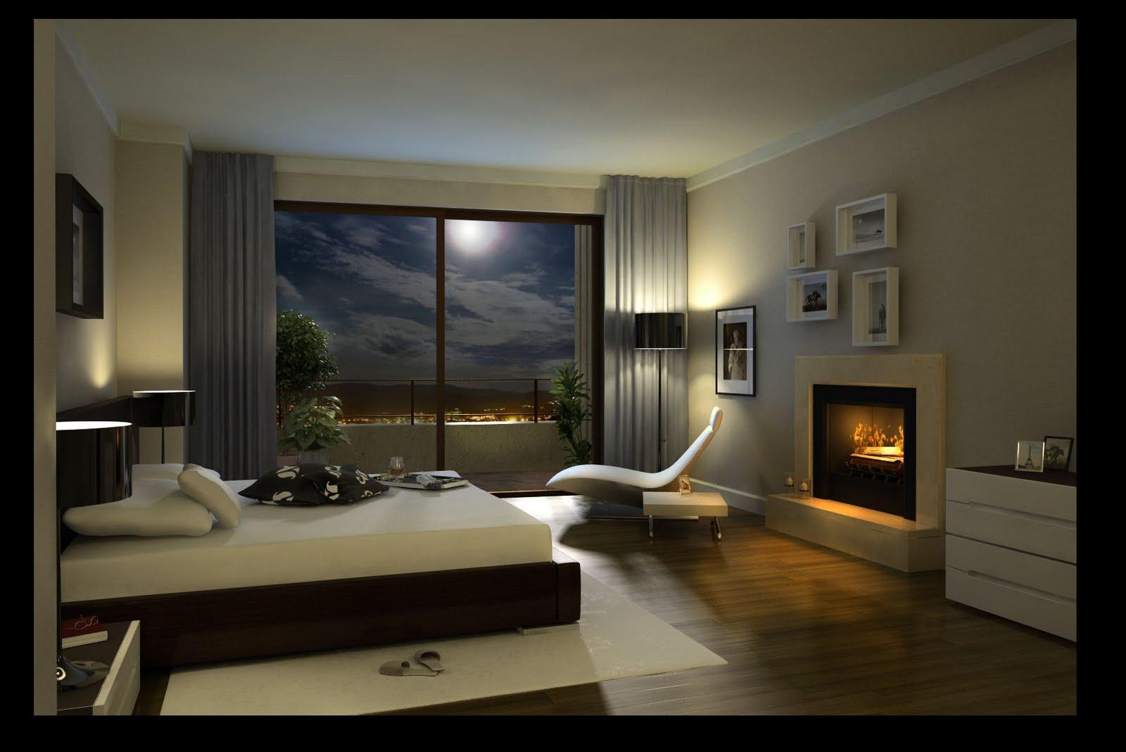 decoracion de dormitorio iluminacion