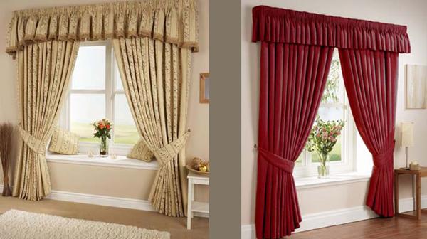 Decoracion for Tipos de cortinas para salon
